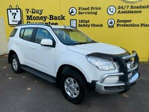 2015 Holden Colorado 7 RG MY16 LT White 6 Speed Sports Automatic Wagon Invermay Launceston Area Preview