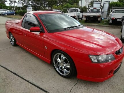 2003 Holden Commodore VY SS Red 6 Speed Manual Utility