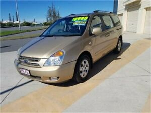 2010 Kia Carnival VQ MY09 EXE Gold 4 Speed Automatic Wagon Cleveland Redland Area Preview