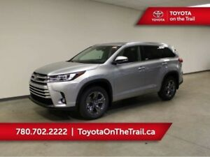 2019 Toyota Highlander LIMITED AWD; LEATHER, JBL, PANO SUNROOF,