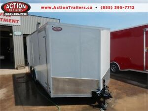 2019 HAULIN 8.5 X 16 ENCLOSED TRAILER WITH BARN DOORS