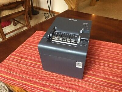 Epson Tm-l90 Thermal Receipt Printer M313c Used 2