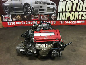 B16B CIVIC TYPE-R 2000 ENGINE WITH S4C – R4 LSD MT TRANSMISSION
