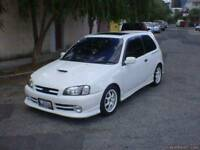 WANTED TOYOTA STARLET GLANZA 1.3 TURBO