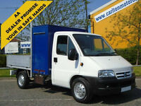 Citroen Relay 2.2Hdi Mwb Dropside [ Swing Lift /Crane ] Alloy body 2006/ 06