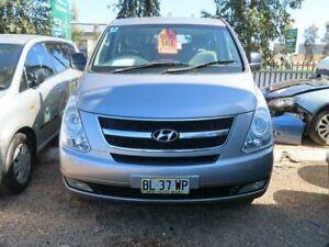 2011 Hyundai iMAX TQ-W MY11 Silver 4 Speed Automatic Wagon Minchinbury Blacktown Area Preview