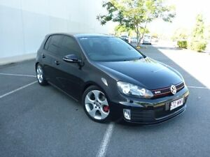 2012 Volkswagen Golf VI MY12.5 GTI DSG Deep Black Pearl Effect 6 Speed Sports Automatic Dual Clutch Westcourt Cairns City Preview