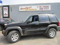 2002 JEEP LIBERTY SPORT 4X4 $3995 429 20TH ST WEST