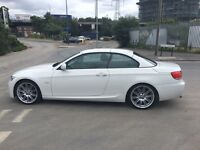 BMW 320d hard top convertible 2010, low mileage only 35k, almost perfectly new condition