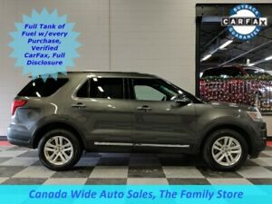 2018 Ford Explorer 4WD, XLT, Back Up Camera, Remote Start, Back