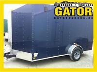 B7X12-7SA REMORQUE FERMÉ V-NOSE ENCLOSED TRAILER CARGO GATOR 7X1
