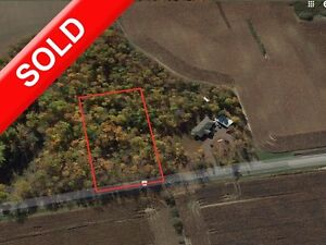 SOLD: Rare Chance to Buy Building Treed Lot Near Aylmer/Belmont