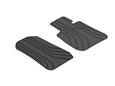 Genuine BMW All Weather Rubber Front Floor Mats  PN 51472311059 UK