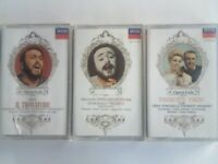 CSL 9 ULTRA RARE GOLD LIVERIED LIMITED EDITION PAVAROTTI PRERECORDED CASSETTE TAPES NOW HALF PRICE