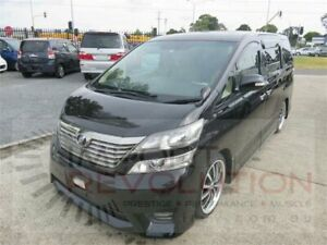 2009 Toyota Alphard GGH20W Black Automatic Wagon Bayswater Knox Area Preview