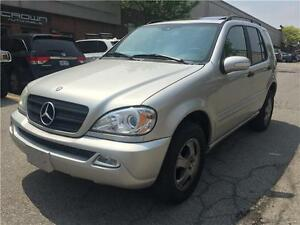 2004 Mercedes-Benz M-Class 3.7L Elegance, ML350, AWD