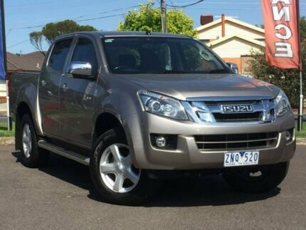2013 Isuzu D-MAX Beige Sports Automatic Utility Hoppers Crossing Wyndham Area Preview