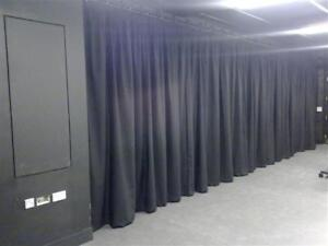 Theater drapes acoustic curtains black out