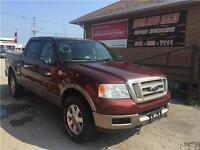 2005 Ford F-150 4X4*** KING RANCH***LEATHER***CREW CAB***SUNROOF