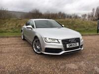 AUDI A7 3.0TDI QUATTRO S-LINE SPORTBACK *LOW MILES, OVER £5,500 WORTH OF EXTRAS*