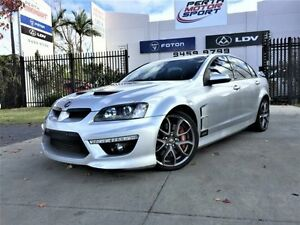 2010 Holden Special Vehicles Clubsport E2 Series R8 Silver 6 Speed Manual Sedan Beckenham Gosnells Area Preview