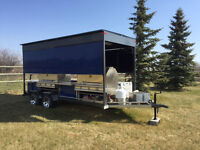 BBQ Trailer for Rental