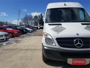 2013 Mercedes-Benz Sprinter Cargo Van EXT Fully Certified
