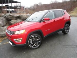 2017 Jeep COMPASS LIMITED (PANORAMIC ROOF, LEATHER, NAVIGATION,