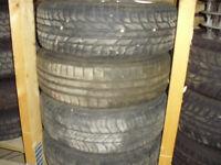 Peugeot steel wheels and tyres