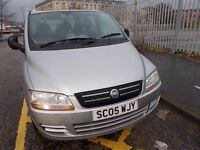 FIAT MULTIPLA 1.6 EXCLUSIVE 6 SEATER 05 REG,, IDEAL FAMILY CAR,, MOT MAY 22ND 2018