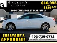 2014 Chevrolet Malibu LT $119 bi-weekly APPLY NOW DRIVE NOW