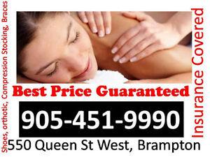 MaSsage BeSt Price Brampton open7 DayS insurance eligible
