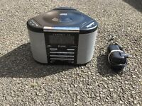 Chronos DAB & CD player with alarm and clock