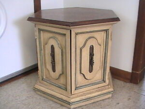 End Table, Octagonal End Table, Coffee Table, Living Room Table