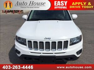 2014 Jeep Compass Limited HEATED LEATHER, SUNROOF AWD!!!
