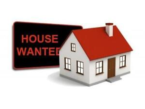 WANTED: WHOLE HOUSE FROM MAY 2018