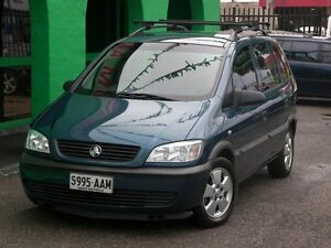 2001 Holden Zafira TT Automatic Nailsworth Prospect Area Preview