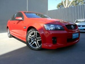 2011 Holden Commodore VE II MY12 SV6 Red 6 Speed Manual Sedan Fawkner Moreland Area Preview