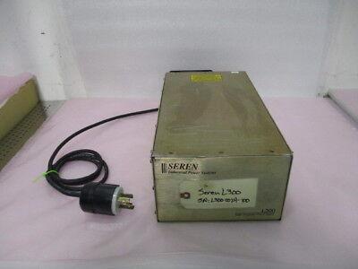 Seren IPS L300 Radio Frequency Power Supply, 208 VAC, 10A, 47/63 Hz, 423842
