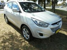 2014 Hyundai ix35 LM Series II Active (FWD) Silver 6 Speed Automatic Wagon Belconnen Belconnen Area Preview