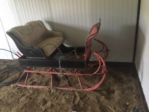 Horse drawn cart and sleigh for sale