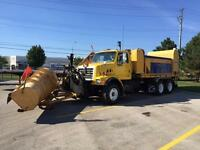 2002 Sterling LT-8000 Gincor Sander/Salter and Plow