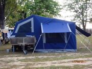 CAMEL BUSHMAN CAMPER TRAILER OFF-ROAD STEP UP WALKWAY Rangewood Townsville Surrounds Preview