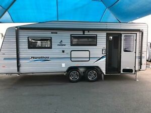 2016 Olympic MARATHON 19 Single Bed Caravan Unanderra Wollongong Area Preview