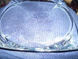 "Waterford Crystal 14"" Platter."