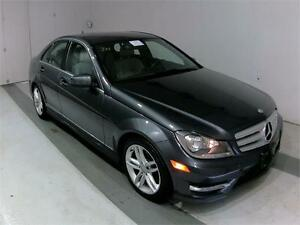 2013 MERCEDES BENZ C300 4MATIC LEATHER SUNROOF SPORT PACKAGE