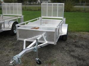 4x8 All Aluminum Utility Trailer by Millroad