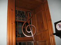 Wood Art Treble Clef