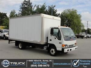 2005 GMC W4500 16 FT BOX TURBO DIESEL