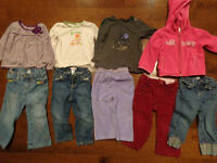 Size 2T girl clothes